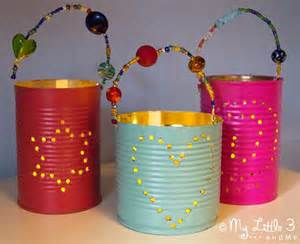 gifts made by gifts tin can lanterns craft room