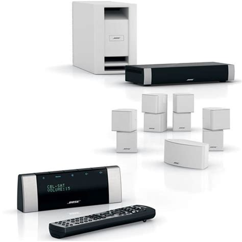 bose lifestyle v30 home theater system white 42579 b h photo