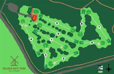 san francisco golf map golf course golden gate park golf course