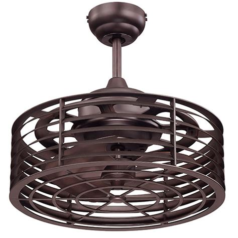 caged ceiling fan with light modern caged ceiling fan shades of light