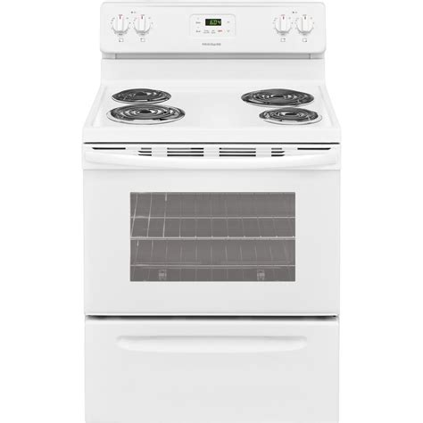 frigidaire 30 in 4 8 cu ft electric range in white