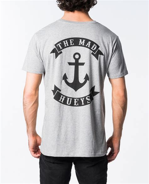 T Shirt Anchor 2 the mad hueys anchor sleeve t shirt ozmosis t