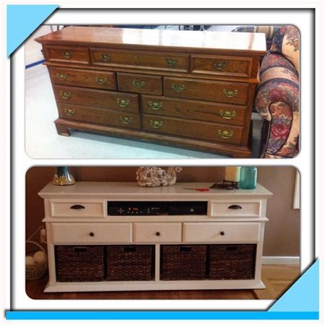 How To Turn Dresser Into Entertainment Center by 1000 Ideas About Dresser Entertainment Centers On