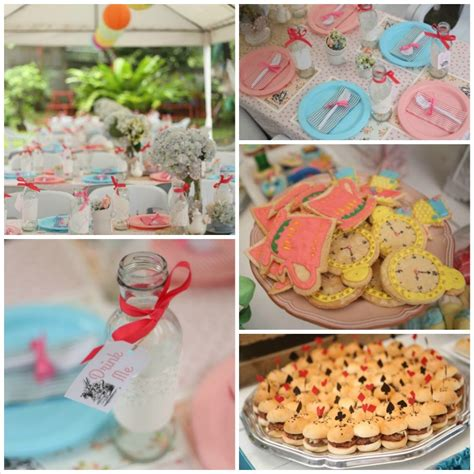 kara s party ideas shabby chic alice in wonderland themed