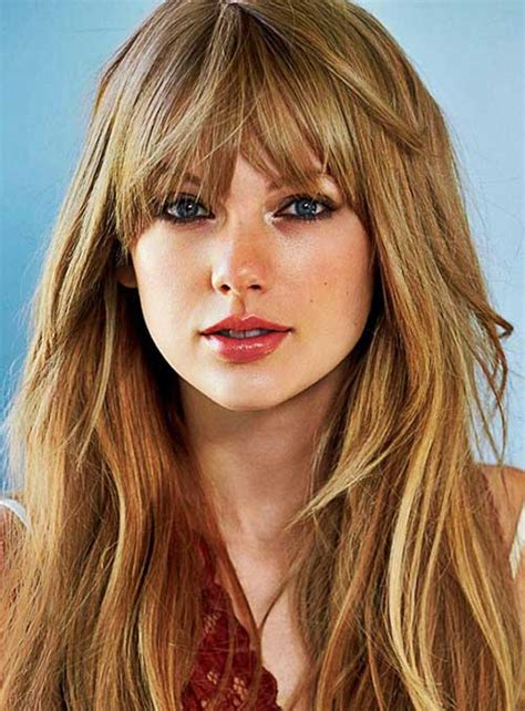 2017 Hairstyles For With Bangs by 25 Hairstyles With Bangs 2015 2016 Hairstyles