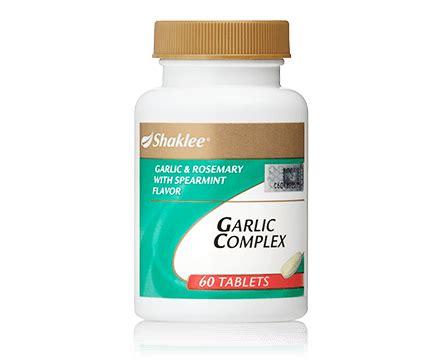 Vitamin Garlic Shaklee Garlic Complex Healthy Defense Shaklee Malaysia