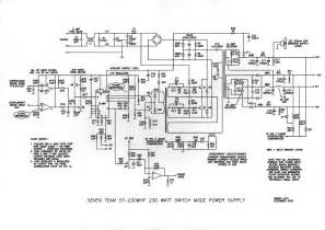 electronic components computer power supply circuit