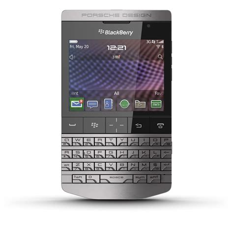Blackberry Porsche P9981 Design blackberry porsche design p9981 fiche technique et