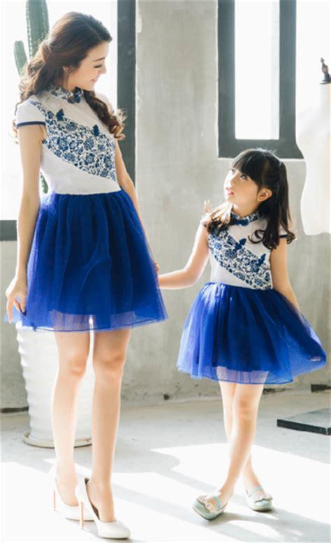 Dress Ibu Dan Anak 20 baju dress korea style untuk ibu dan anak perempuan