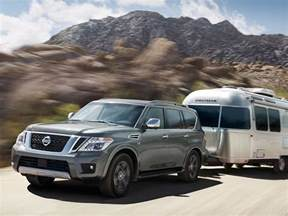 V6 Nissan Armada 10 Best Suvs With A Tow Package Autobytel