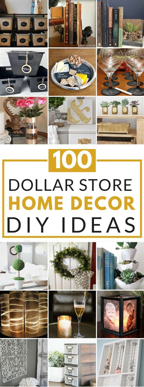 100 dollar store diy home decor ideas home decor ideas