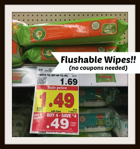 comforts baby wipes comforts for toddler flushable wipes only 0 49 at kroger