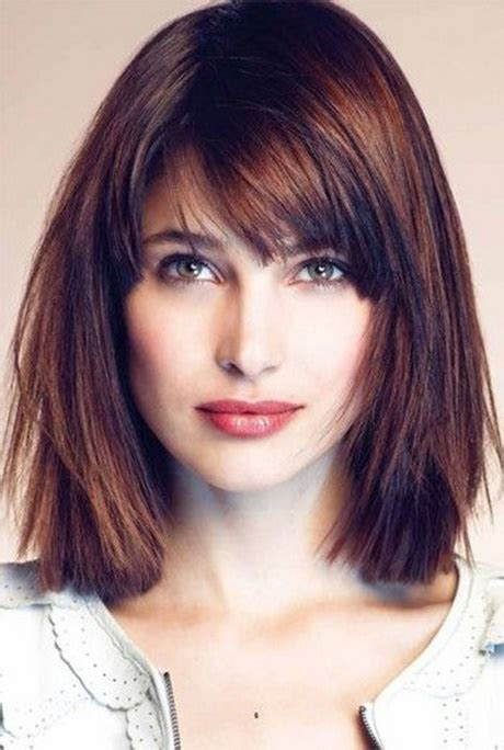 hair lenght at 63 short bangs medium length hair