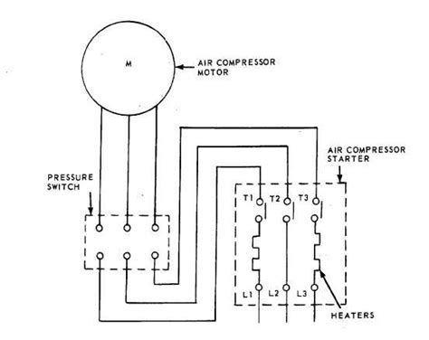 figure 1 3 wiring diagram for air compressor
