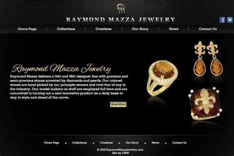 Jewelry Websites by Image Gallery Jewelry Websites