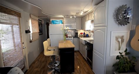 total trailer remodel mobile manufactured home living