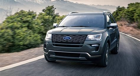 2018 ford explorer spec 2018 ford explorer price release date sport platinum specs