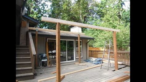 Deck with covered roof   Deck design and Ideas