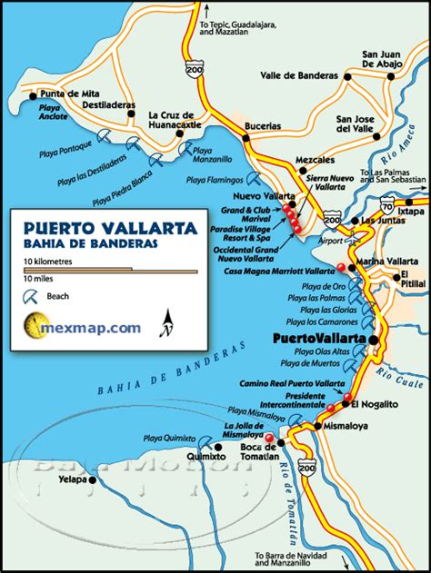 vallarta map of mexico vallarta mexico maps vallarta mexico