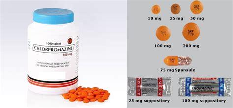 chlorpromazine penggunaan dosis  efek samping