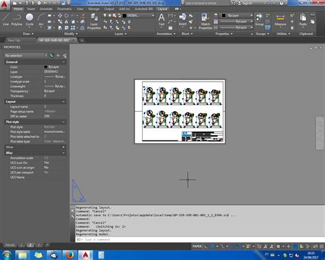 autocad layout zoom out solved full white layout bug autodesk community