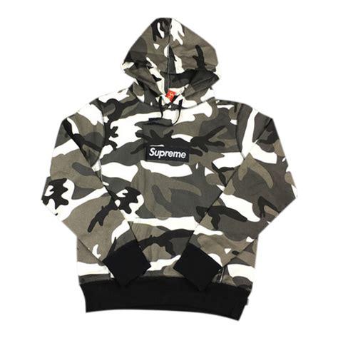 Supreme Box Logo Hoodie Grey With Real Material new supreme snow camo box hoodie buy supreme