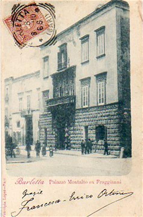 ufficio postale cittadella barletta palazzo montalto affrancata c 2 stemma