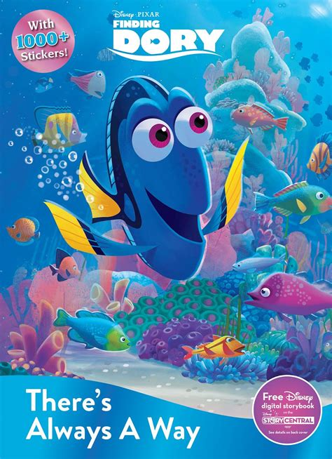 Finding Dory Busy Book finding dory story books and activity books for