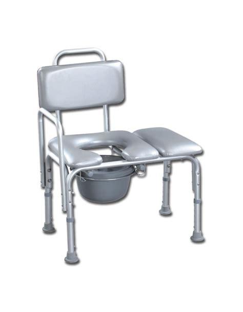 sedia da bagno sedia da bagno con schienale in alluminio seduta