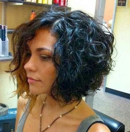 15 photo of inverted bob haircut for curly hair