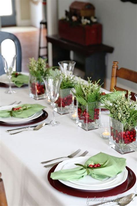 christmas table decorations 78 images about christmas table decorations on pinterest