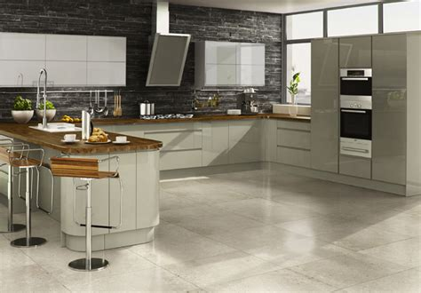 Kitchen Ideas Gloss Handle Less Kitchen Pictures Pictures