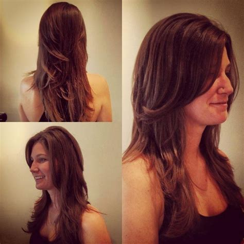 15 best collection of long hairstyles with short layers on top 15 collection of short layered long hairstyles