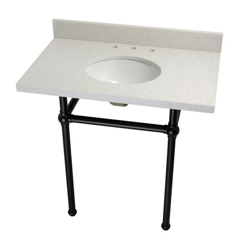 oil rubbed bronze table kingston brass washstand 36 in console table in white