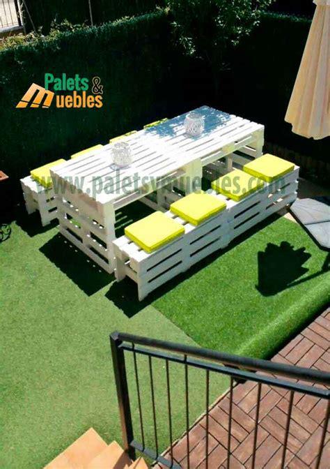 palets muebles mesa y banco con palets palets y muebles
