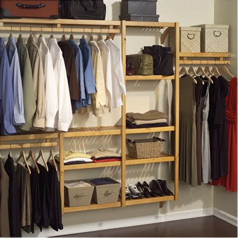 Storage System Closet by Louis Home Closet Shelving System