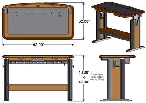 Stand Up Desk Dimensions 28 Images Imovr Olympus Stand Up Desk Dimensions