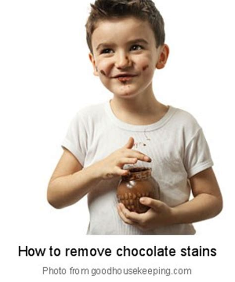 how to remove chocolate stains from your favorite clothes