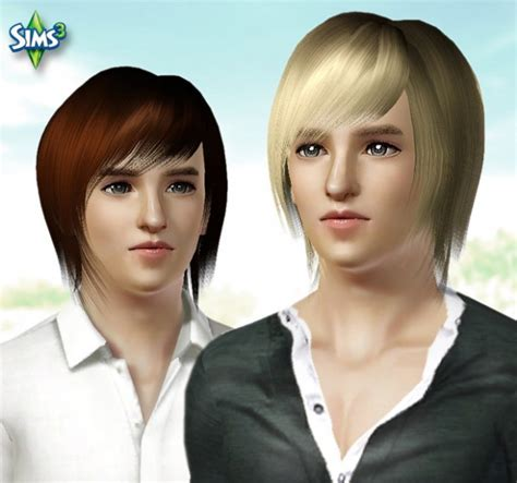 military haircuts sims 3 the sims 3 medium layered hairstyle for boys conversion