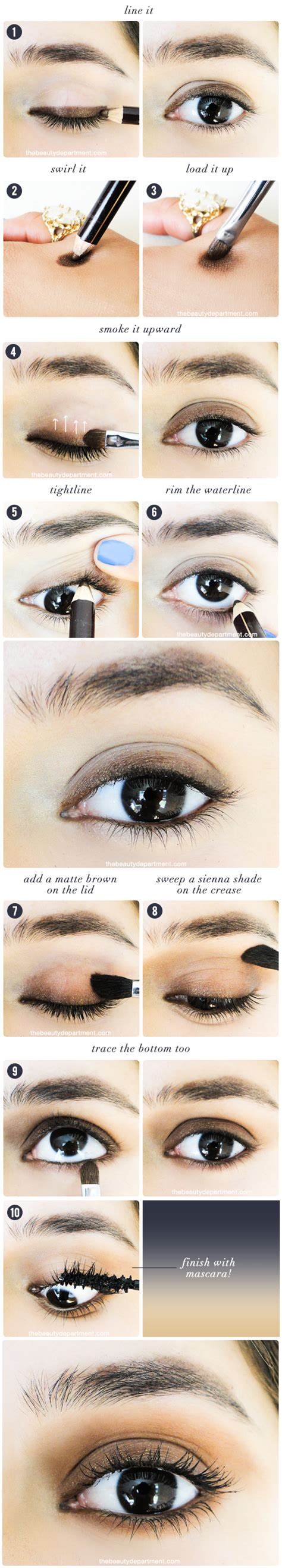 bedroom eye fall transition makeup the beauty department bloglovin