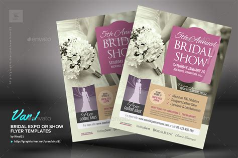 Expo Template Bridal Expo Or Show Flyer Templates By Kinzi21 Graphicriver
