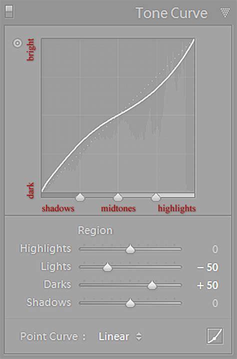 tutorial edit tone lightroom mastering lightroom how to use the tone curve panel