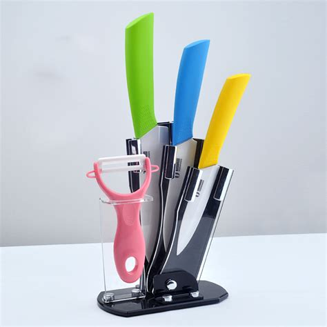 u timhome brand 6 quot inch kitchen chef parking ceramic knife wholesale high quality ceramic knife 5 piece set 3 inch