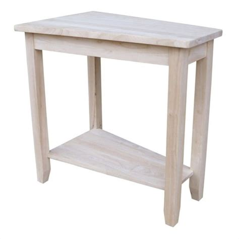 unfinished accent table unfinished keystone accent table ot 45