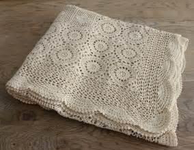 Crochet Bedspread Vintage Crochet Bedspread