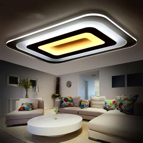 slim fixture square led light living room bedroom ceiling modern led ceiling lights for indoor lighting plafon led