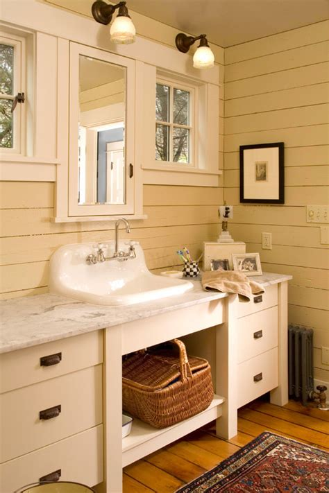 Farmhouse Style Bathroom Vanity A Collection Of Bathroom Vanities Town Country Living