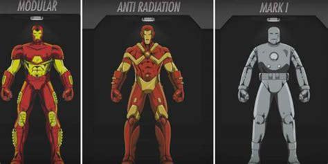 iron man suit tony stark created