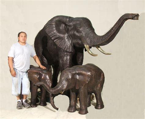 elephant statue large bronze elephant statue