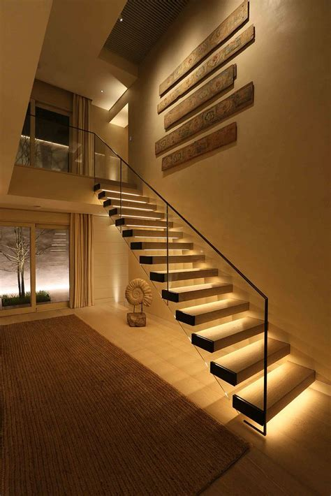led lighting for home interiors best 25 stair lighting ideas on staircase